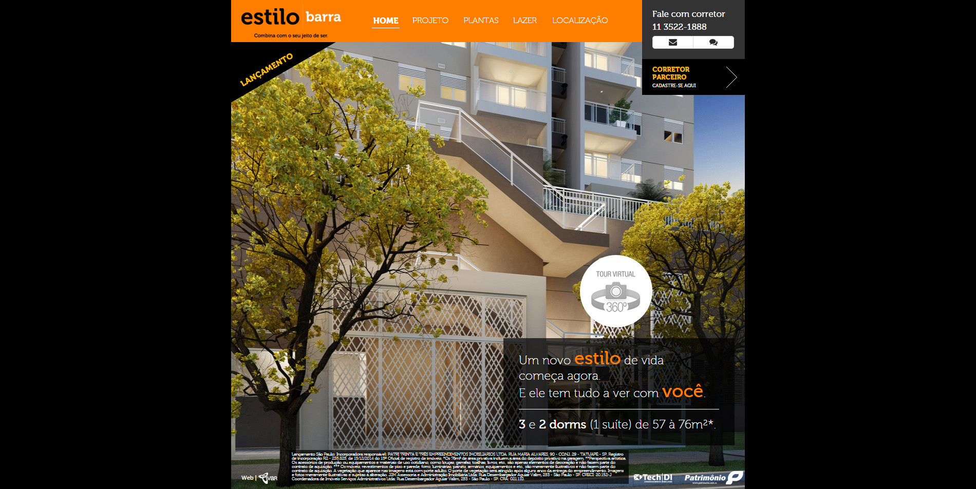 Hotsites-Estilo Barra