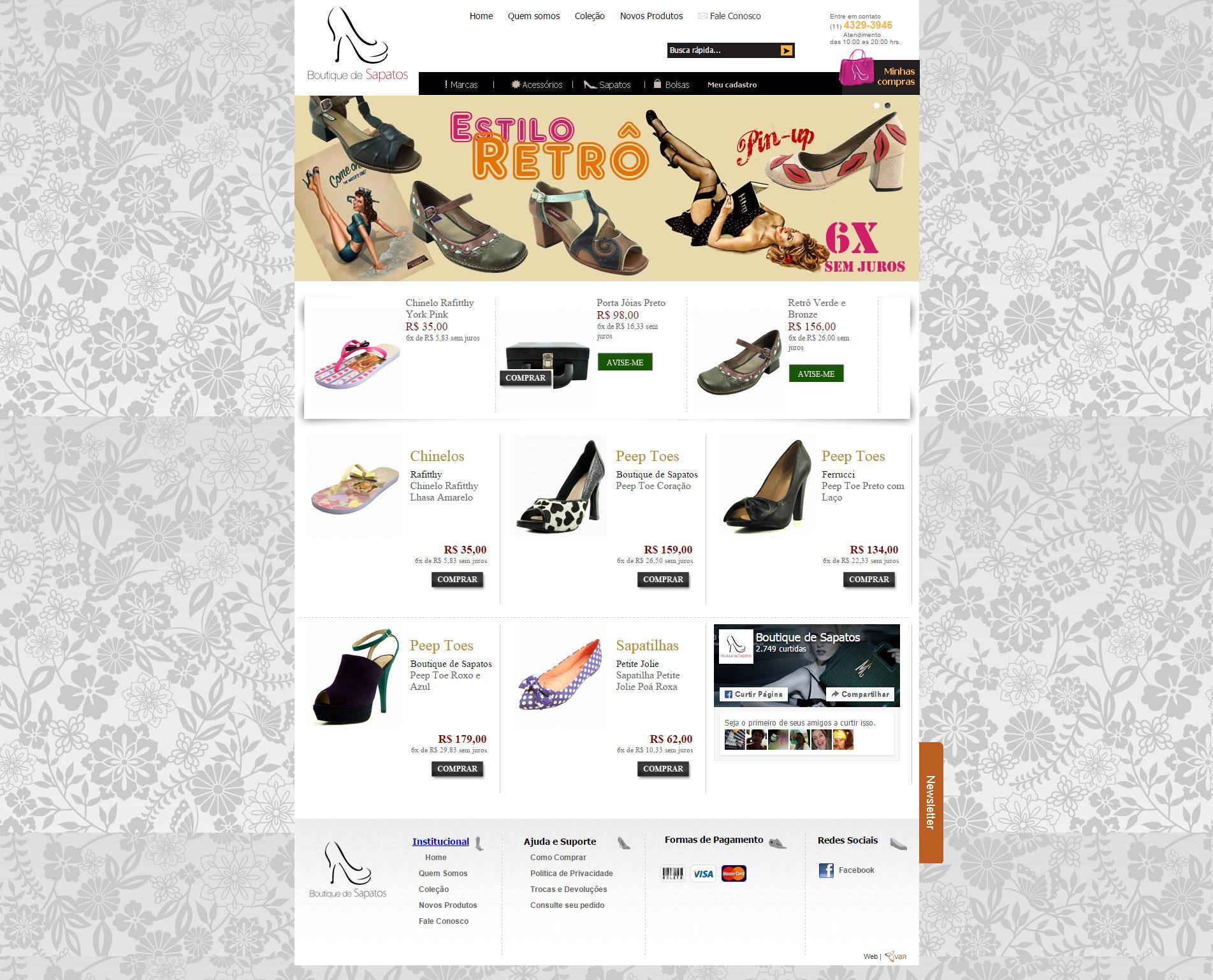 Loja Virtual-Boutique dos Sapatos