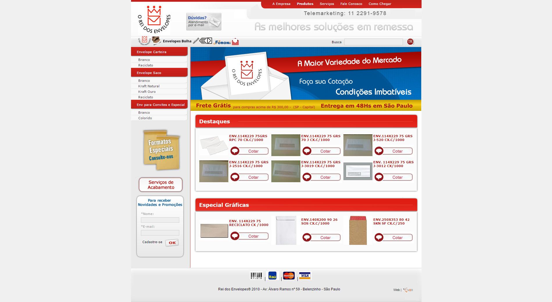 Catálogo Virtual-Rei dos Envelopes